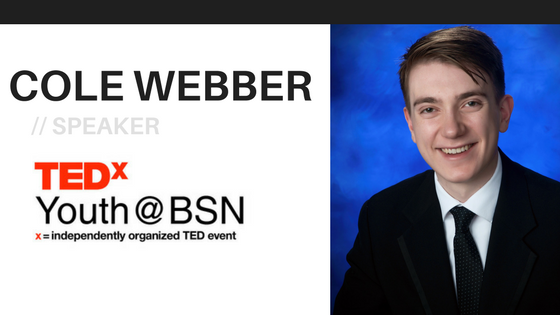 Self-Education is the Currency of the Future | Cole Webber | TEDxYouth@BSN Speaker