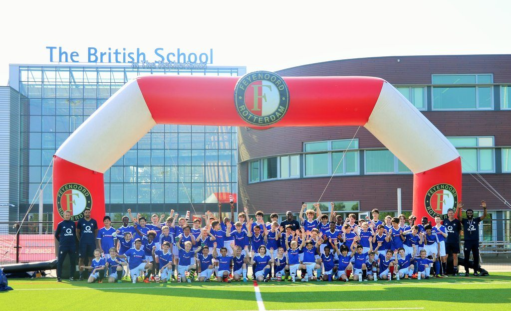 BSN Students Learn to Play the Feyenoord Way