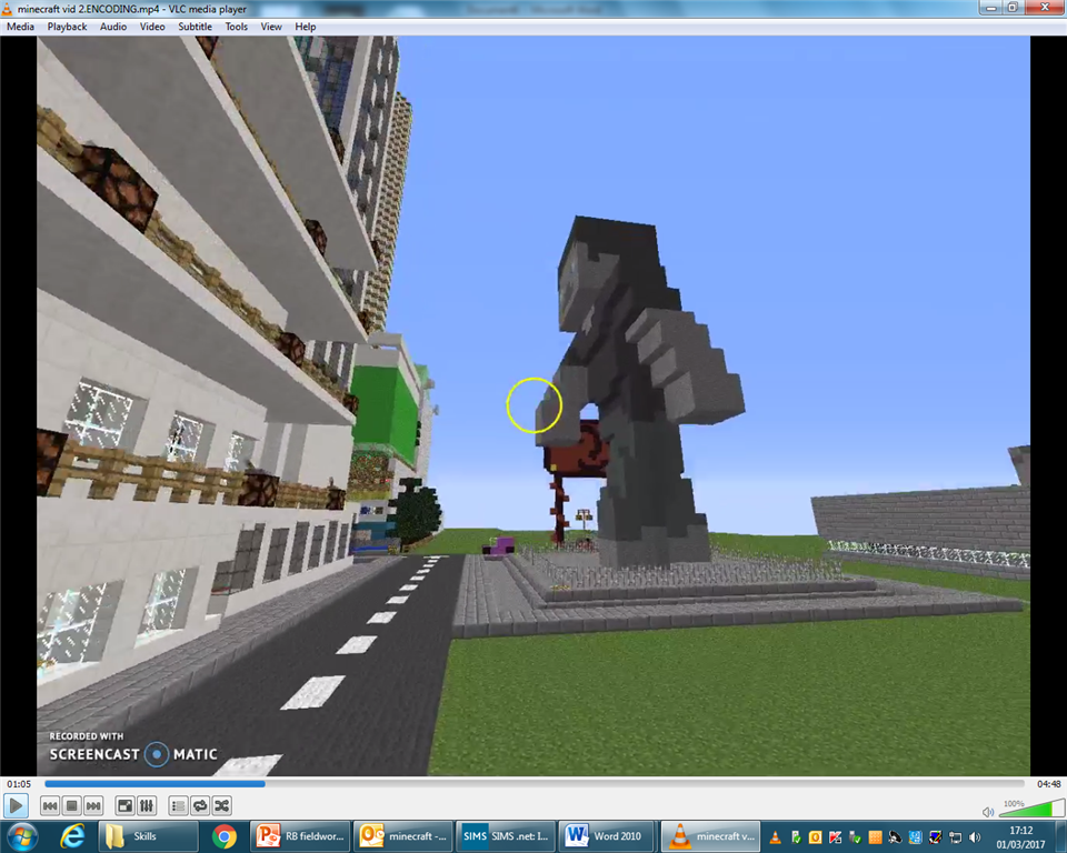 Geography Minecraft: Gamification in Education