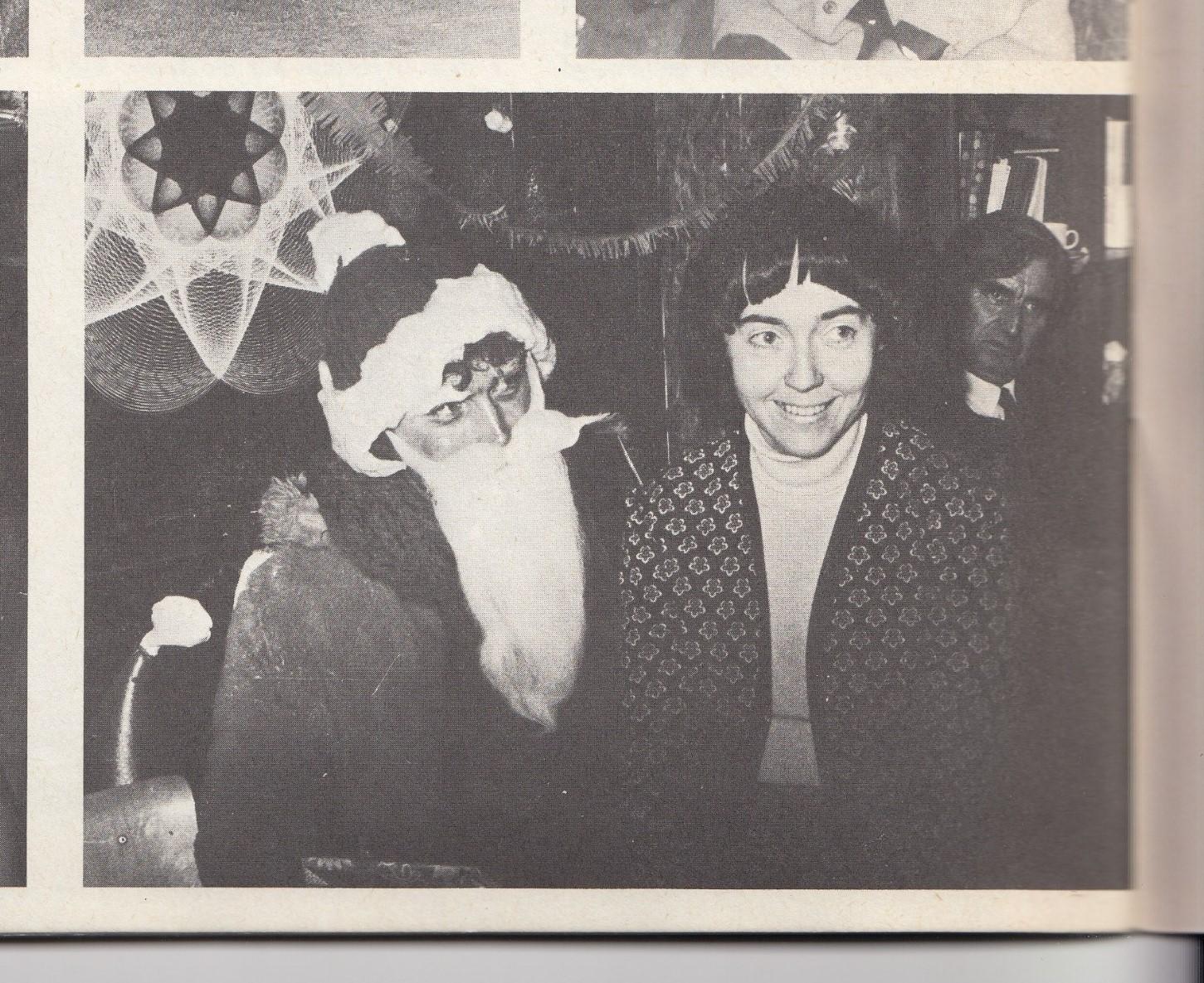 Christmas at the English School 1972
