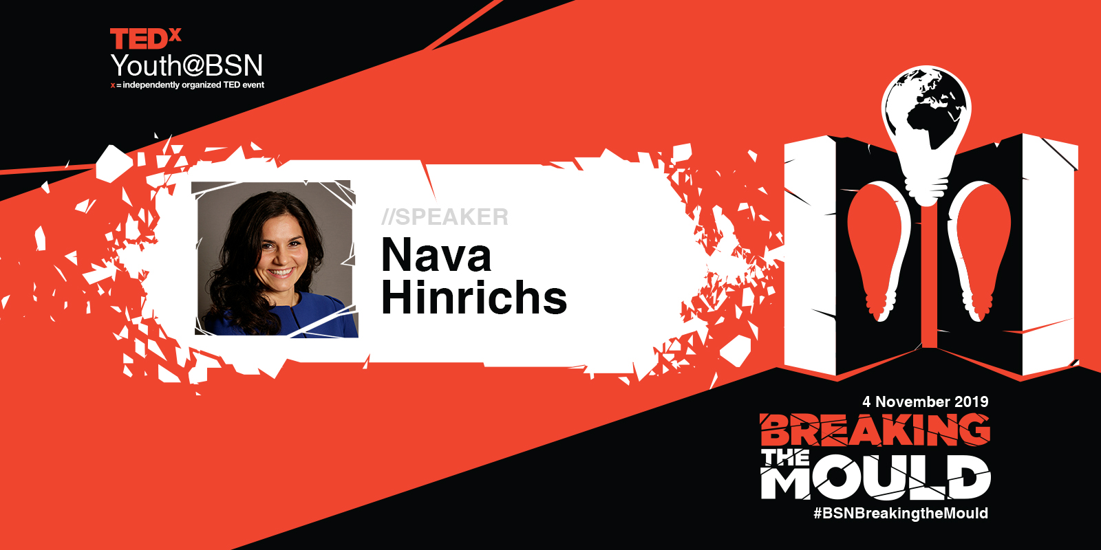 A Life in Migration | Nava Hinrichs | TEDxYouth@BSN Speaker