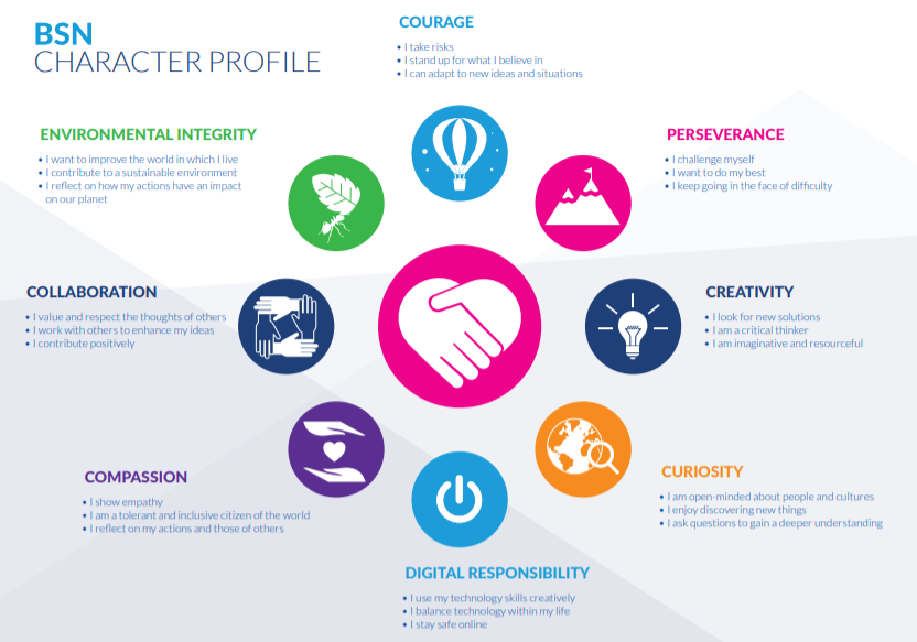 character profile senior school international school netherlands