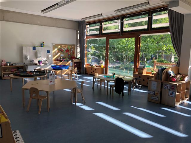 Junior School Leidschenveen classroom