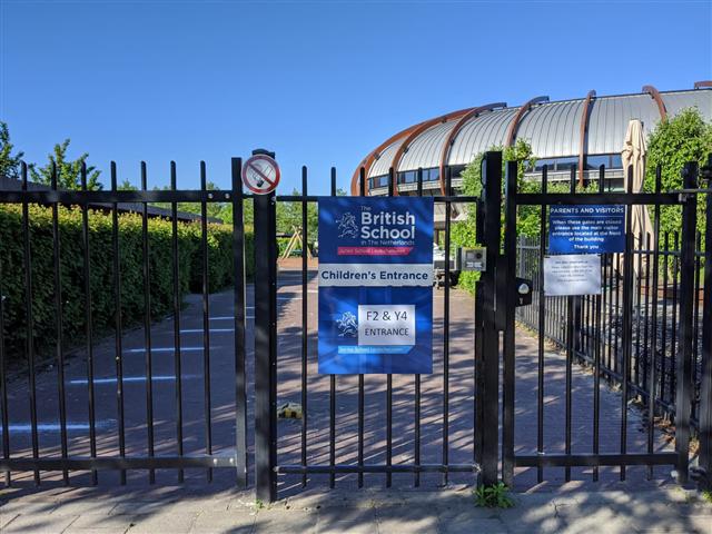 Leidschenveen campus entry
